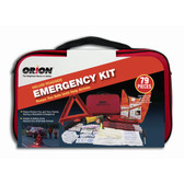 Orion 8901 Deluxe Roadside Flare and Emergency Kit, 79 Pieces