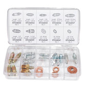 K Tool 00006 Brake Bleeder Screw and Washer Assortment - 30 Piece