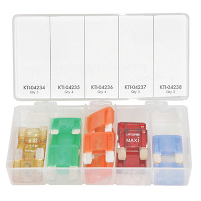 K Tool 00027 Fuse Kit- Maxi Fuse 16 Pieces