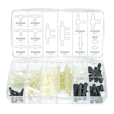 K Tool 00042 Vacuum Tee Kit- 56 Piece