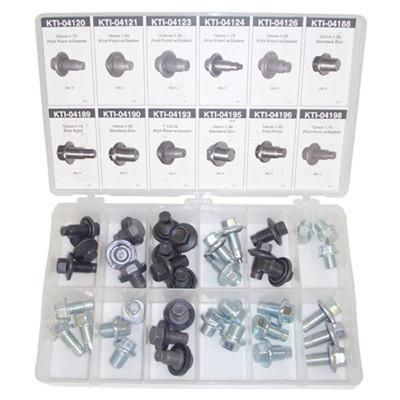 K Tool 00058 Drain Plug Assortment - 40 Piece