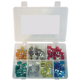 K Tool 00080 Auto Fuse Assortment - 120 Piece Color Coded Fuses from 5 Amp to 30 Amp