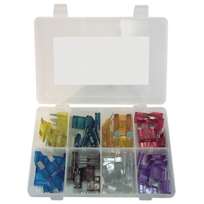 K Tool 00082 Maxi Auto Fuse Assortment - 56 Piece Color Coded Fuses from 20 Amp to 100 Amp