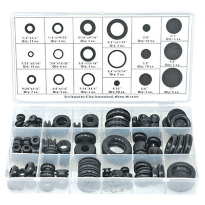 K Tool 00091 Grommet Assortment 125 Piece