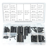 K Tool 00093 Roll Pin Assortment- 120 Piece