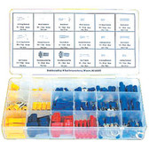 K Tool 00097 Electric Wire Solderless Terminal Kit- 157 Piece