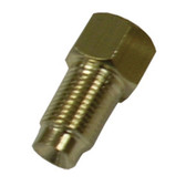 K Tool 04002 Brake Metric Adaptor 3/16 Female Flare X M10x1.0 Male Flare- Qty 5