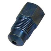 K Tool 04004 Brake Metric Adaptor 3/16 Female Flare X M12x1.0 Male Bubble Flare- Qty 5