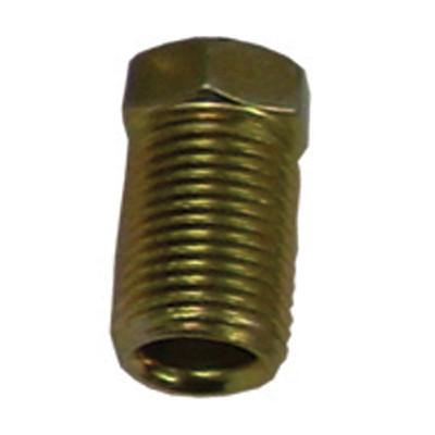 K Tool 04026 Brake Line Nut 1/4 Long- Qty 5
