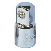 "K Tool 22055 Chrome Adapter, 3/8"" Female to 1/2"" Male"