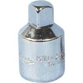 "K Tool 22060 Chrome Adapter, 3/8"" Female to 1/4"" Male"