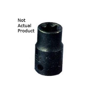 "K Tool 22880 Socket, 3/8"" Drive, E10 External Torx"