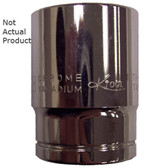 "K Tool 23134 Chrome Socket, 1/2"" Drive, 1-1/16"", 6 Point, Shallow"