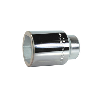 "K Tool 23248 Chrome Socket, 1/2"" Drive, 1-1/2"", 6 Point, Deep"