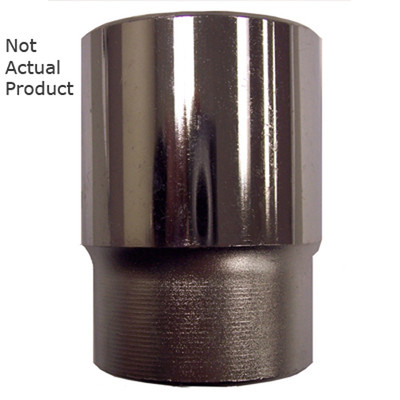 "K Tool 24144 Chrome Socket, 3/4"" Drive, 1-3/8"", 6 Point, Shallow"