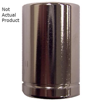 "K Tool 26104 Chrome Socket, 1/4"" Drive, 4mm, 6 Point, Shallow"