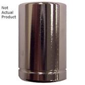 "K Tool 26112 Chrome Socket, 1/4"" Drive, 12mm, 6 Point, Shallow"