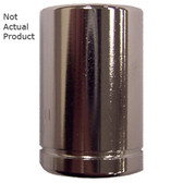 "K Tool 26115 Chrome Socket, 1/4"" Drive, 15mm, 6 Point, Shallow"
