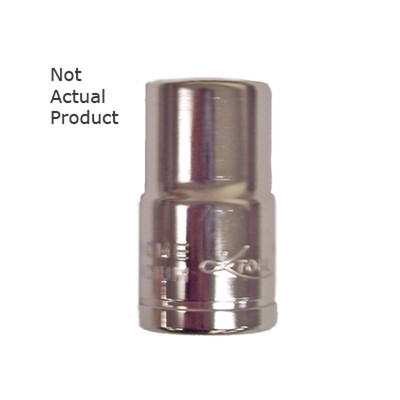 "K Tool 27120 Chrome Socket, 3/8"" Drive, 20mm, 6 Point, Shallow"