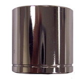 "K Tool 27125 Chrome Socket, 3/8"" Drive, 25mm, 6 Point, Shallow"