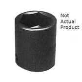 "K Tool 32122 Impact Socket, 3/8"" Drive, 11/16"", 6 Point, Shallow"