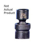 "K Tool 32514 Impact Socket, 3/8"" Drive, 7/16"", 6 Point, Flex, Shallow"