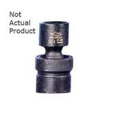 "K Tool 32516 Impact Socket, 3/8"" Drive, 1/2"", 6 Point, Flex, Shallow"