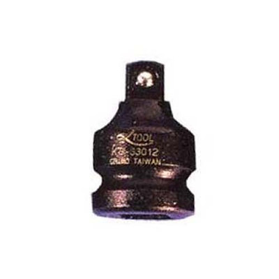 """K Tool 33041 Impact Adapter, 1/2"""" Female to 3/8"""" Male, Wobble"""