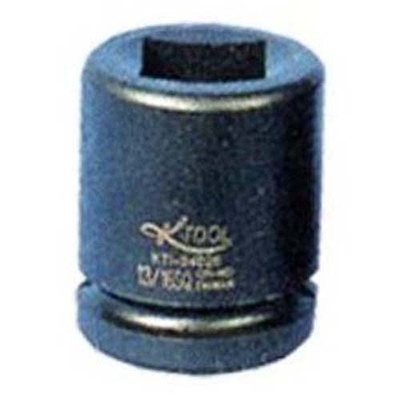 "K Tool 34027 Impact Budd Wheel Socket, 3/4"" Drive, 13/16"" Square and 1-1/2"" Hex, Deep"