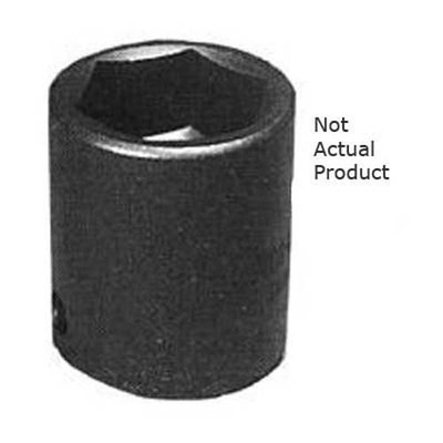 "K Tool 38125 Impact Socket, 1/2"" Drive, 25mm, 6 Point, Shallow"
