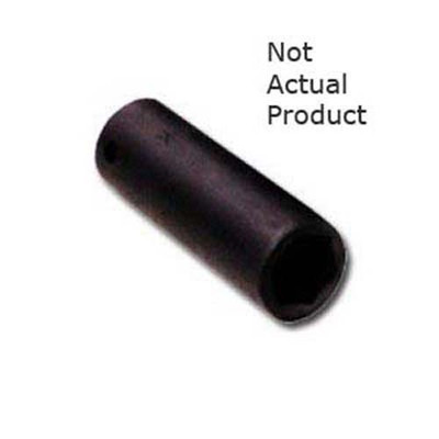 "K Tool 38211 Impact Socket, 1/2"" Drive, 11mm, 6 Point, Deep"