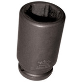 "K Tool 39233 Impact Budd Wheel Socket, 3/4"" Drive, 33mm, 6 Point, Deep"