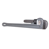 "K Tool 49118 Aluminum Pipe Wrench, 18"" Long, Lightweight, with Hardened Jaws, Nuts and Teeth"