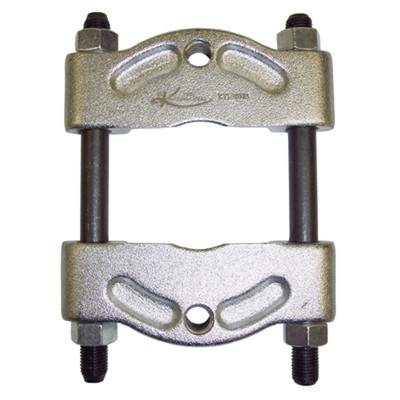"K Tool 70383 Puller and Bearing Separator Reversible for Sizes 0"" - 2 1/4"" - Threaded Holes 3/8"" - 16"""
