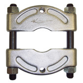 "K Tool 70384 Puller and Bearing Separator Reversible for Sizes 0"" - 4 1/4"" - Threaded Holes 5/8"" - 18"""