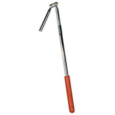 "K Tool 70915 Magnetic Retrieving Tool, Flexible Head, Telescopes from 13"" to 20"", with Pocket Clip"
