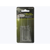 "K Tool 71200 Double Ended Drill Bits, 1/8"", High Speed Steel, Package of 10"
