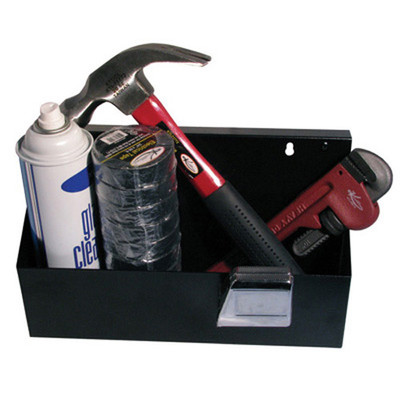 K Tool 72460 Magnetic Tool Box, 33 lb Capacity, with Easy On/Off Screw Hole Design for Portability, Powder Coated