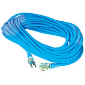 K Tool 73380 All Weather Extension Cord, 25' Blue, 16/3 SJEOW, 13 Amp, Single Tap