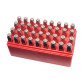 K Tool 73400 Number & Letter Stamp Set - Size 3/16