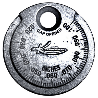 K Tool 73701 Spark Plug Gap Gauge Tool, .020 to .100, in One Thousandths Increments, Single Tool