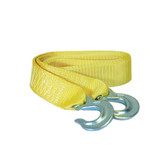 "K Tool 73801 Tow Strap 2"" x 10'  7,000 lb Capacity - Forged Hooks"