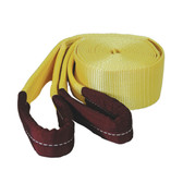 "K Tool 73812 Tow Strap 3"" x 30' 30,000 lb Capacity - Looped Ends"