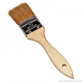 "K Tool 74015 Utility Paint Brush, 1-1/2"" Wide Natural Bristles, Wooden Handle"
