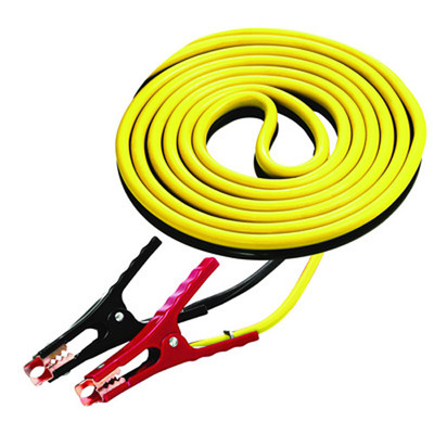 K Tool 74505 Battery Booster Cables, 8 Gauge, 12' Long Medium Duty Cables, 250 Amp Clamps