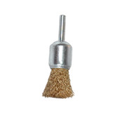 "K Tool 79210 Crimped Wire End Cup Brush, 1"" Diameter, Coarse, 1/4"" Stem, 4500 Max RPM"