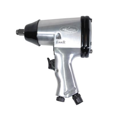 "K Tool 81622 Air Impact Wrench, 1/2"" Drive, 260 ft/lbs Ultimate Torque, Full Polish Body, Reversing Trigger"