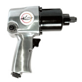"K Tool 81631 Air Impact Wrench, 1/2"" Drive, 425 ft/lbs Ultimate Torque, with Heavy Duty High Output Motor"