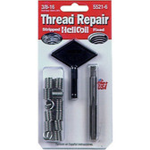 "Helicoil 5521-6 Thread Repair Kit, 3/8"" x 16 NC"