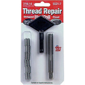 "Helicoil 5521-7 Thread Repair Kit, 7/16"" x 14 NC"